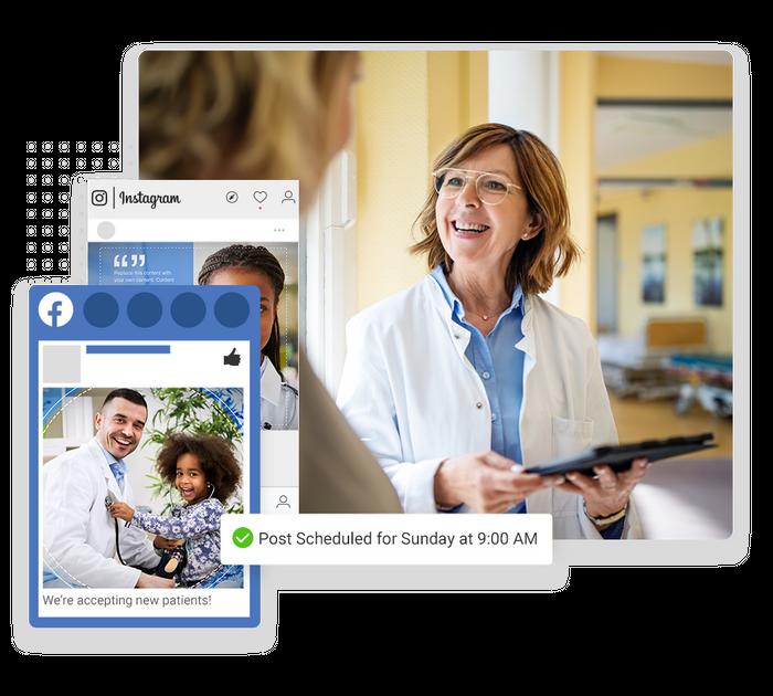 medical social media marketing