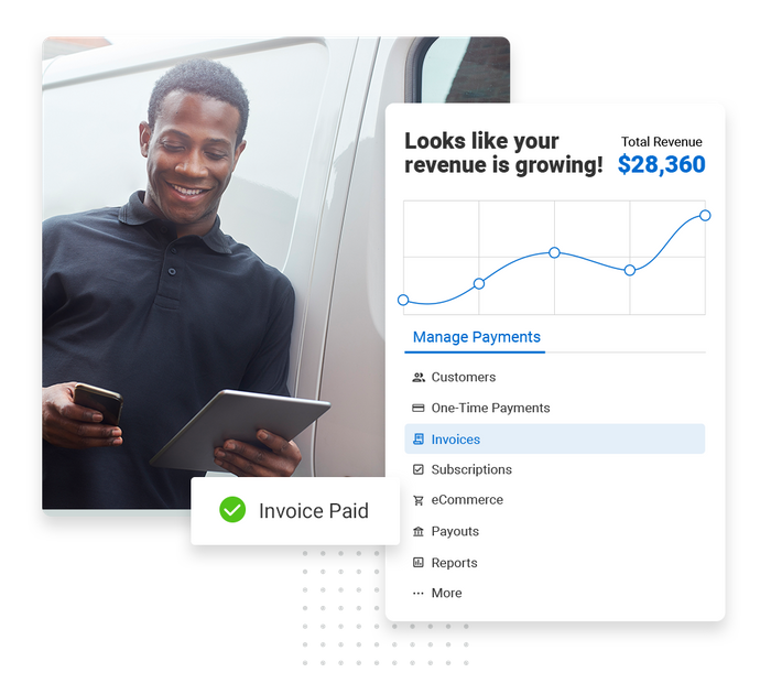 Plumbing payments software