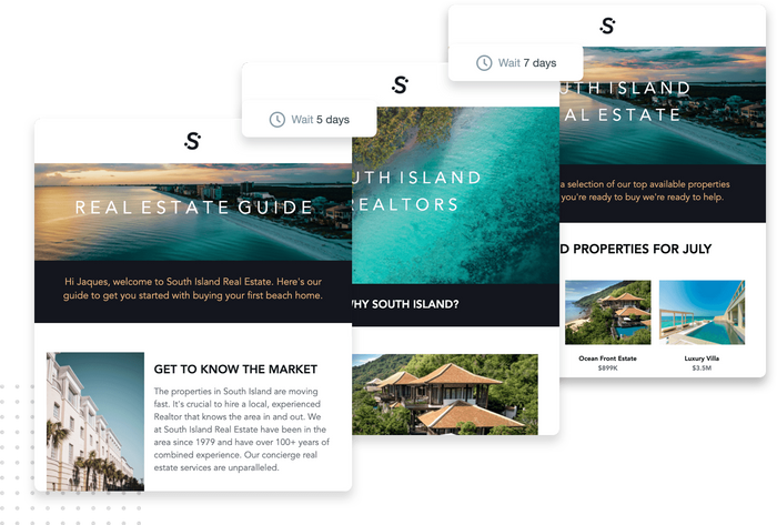 Real estate email marketing campaign