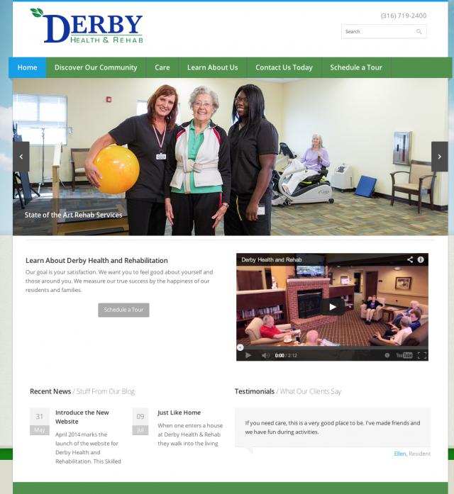 2014 website design screenshot
