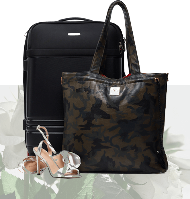 image of bag and shoes