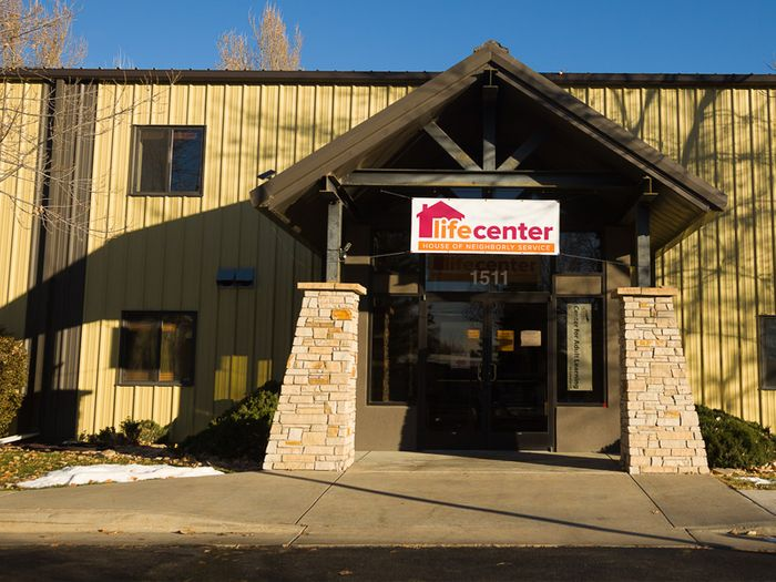 life center front view