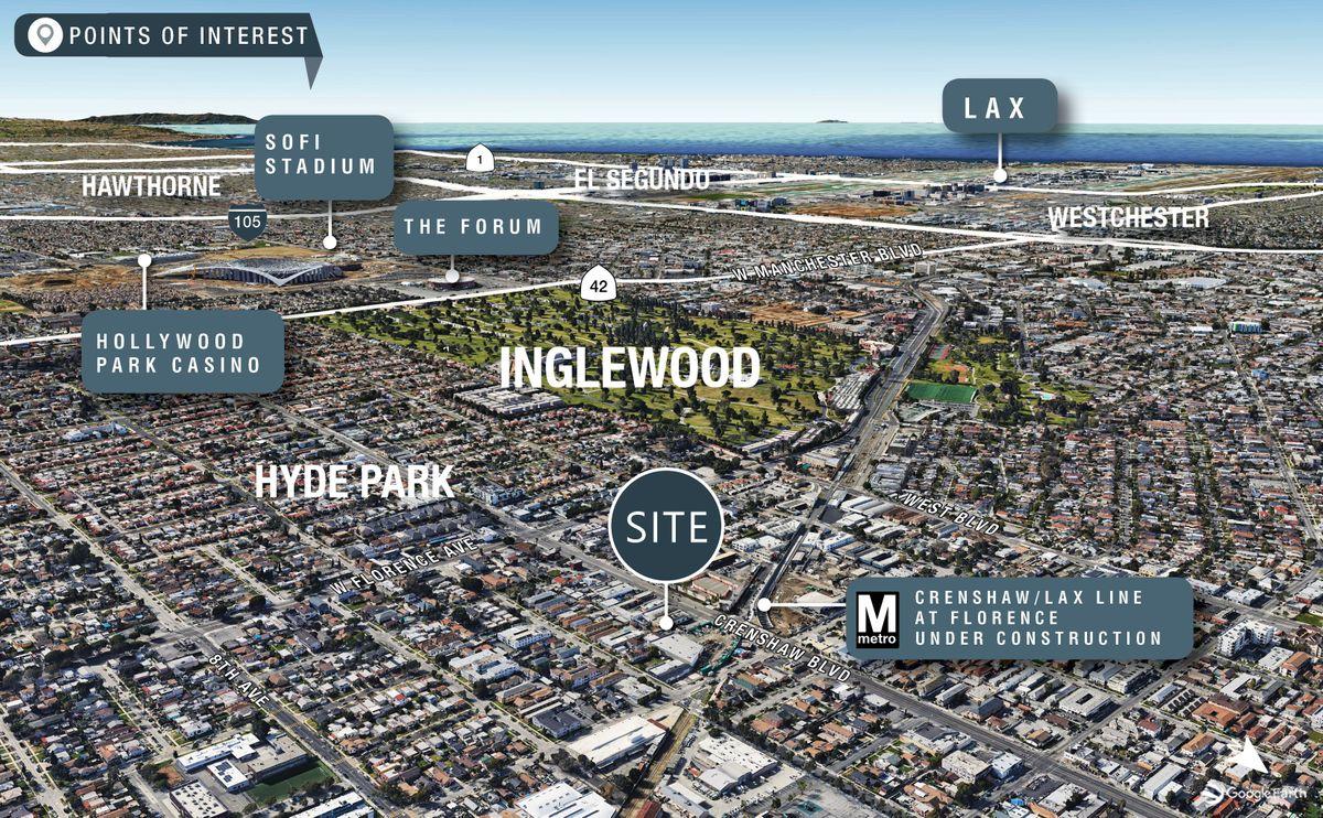 Map of neighborhood near Laurel Kitchens