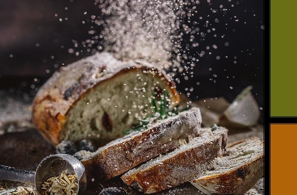 Bread Being Seasoned