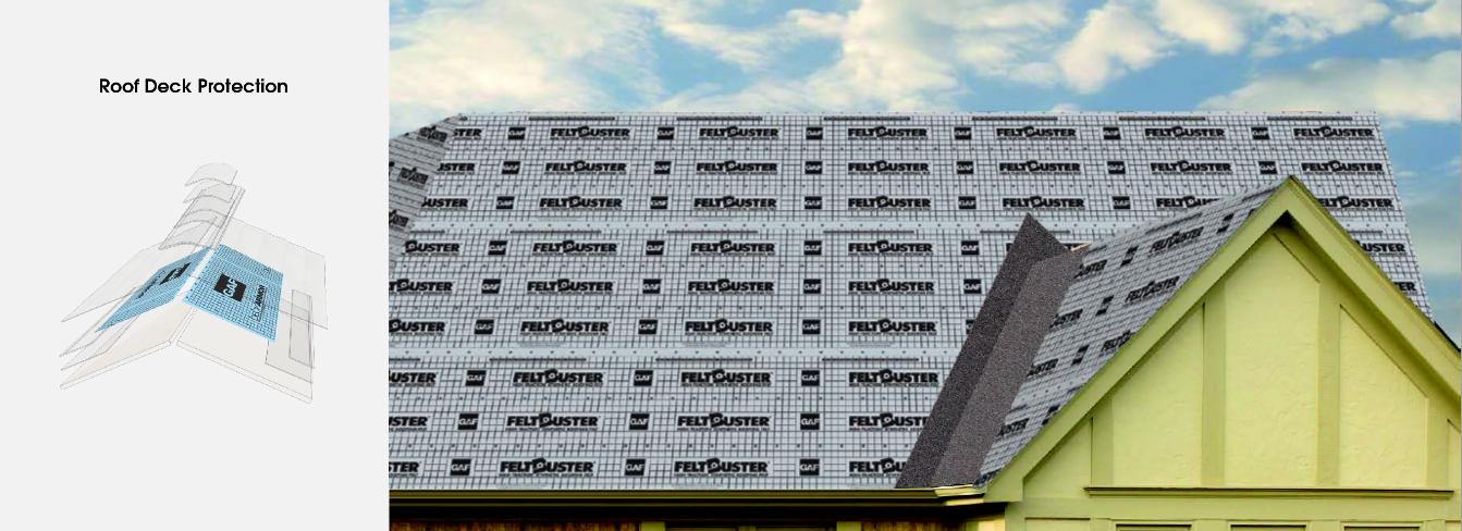 GAF Roof Deck Protection