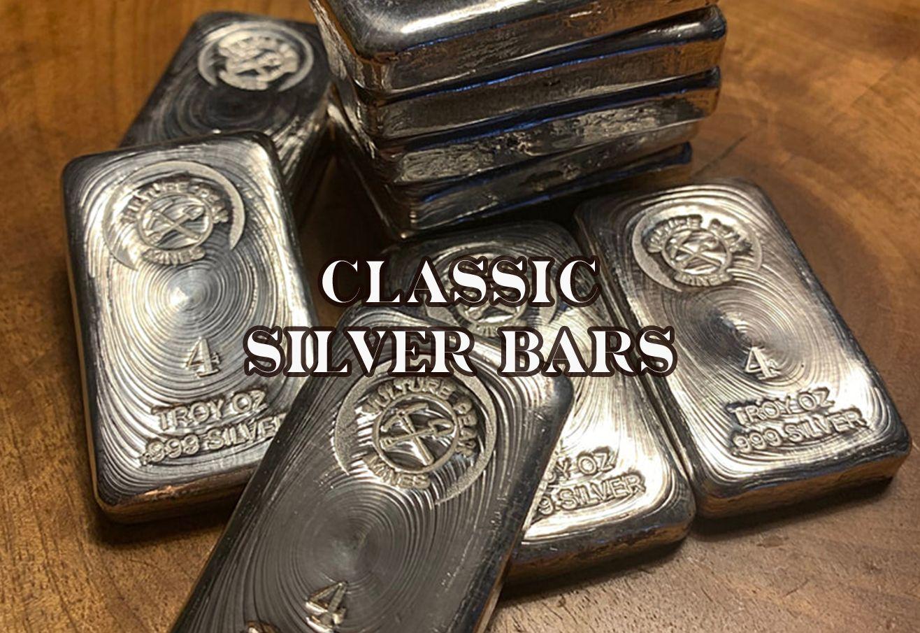 Classic silver bars
