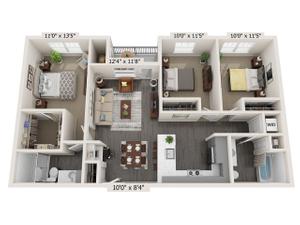 Incline-45-C1-Floor-Plan