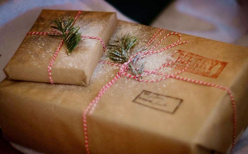 Picture of christmas packages