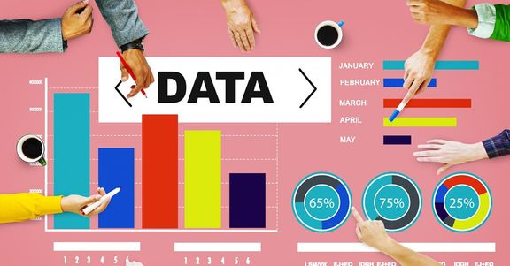 Informational graphic about data