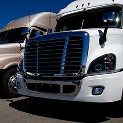 Picture of a semi-truck