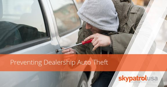 image of a person stealing a car