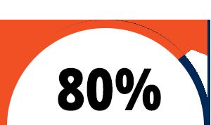 80% logo