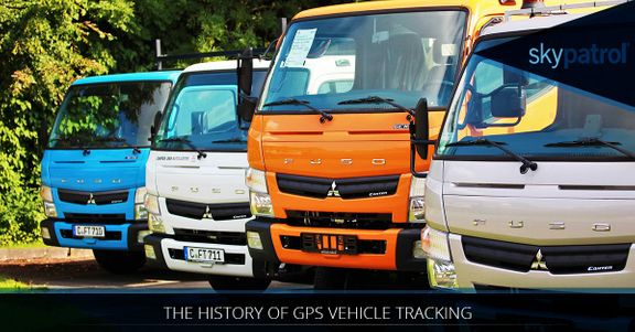 image of various panel trucks