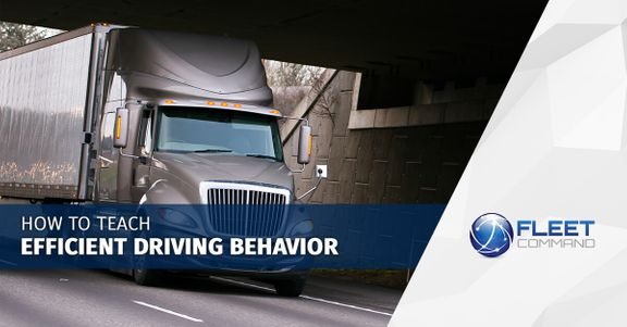 Picture of a semi driving