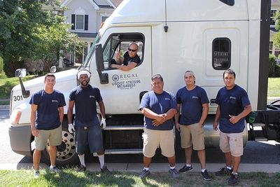 Regal Moving Team and Moving Truck