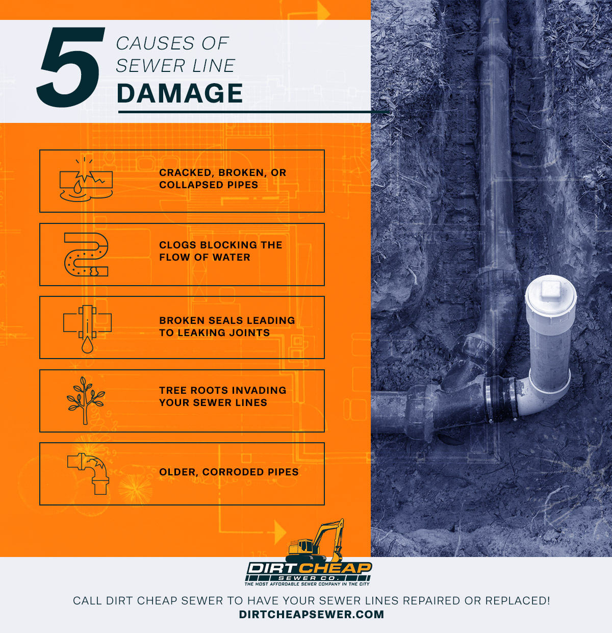 5 Causes of Sewer Line Damage.jpg