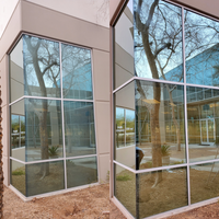 Commercial glass corrosion