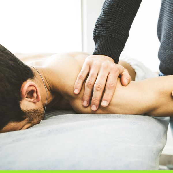 Shoulder pain stretching