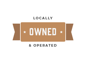 Trust Badge Locally Owned and Operated