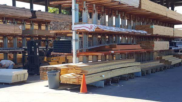 Armstrong Lumber Co. lumber yard