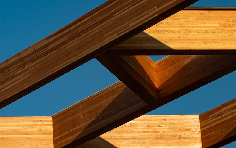 Wood decorative frame