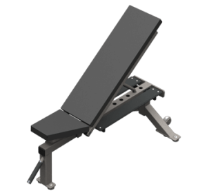 COMBO BENCH WITH SPOTTER PLATFORM