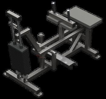 SEATED CALF MACHINE