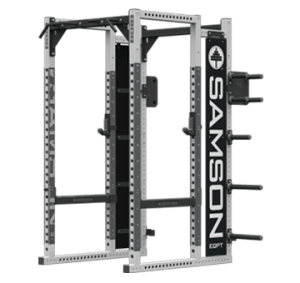 FULL POWER RACK WITH GRAPHICS