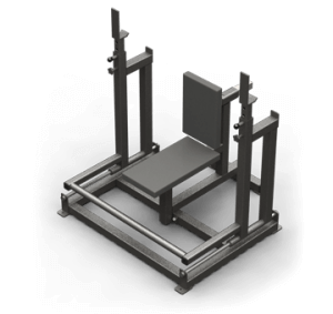 SEATED SHOULDER PRESS WITH LINEAL RACK