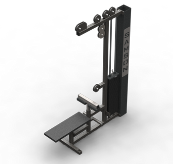 MULTI STATION LAT PULLDOWN WITH ROW COMBO