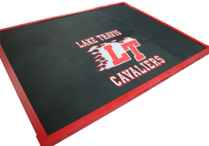 RUBBER 8'X6′ PLT WITH LOGO