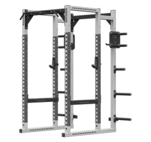 POWER RACK WITH PLATE STORAGE