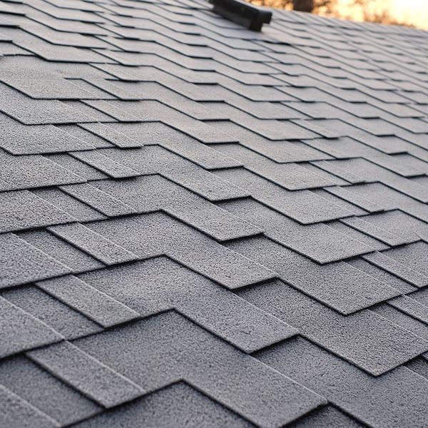 Clean, well maintained roof shingles