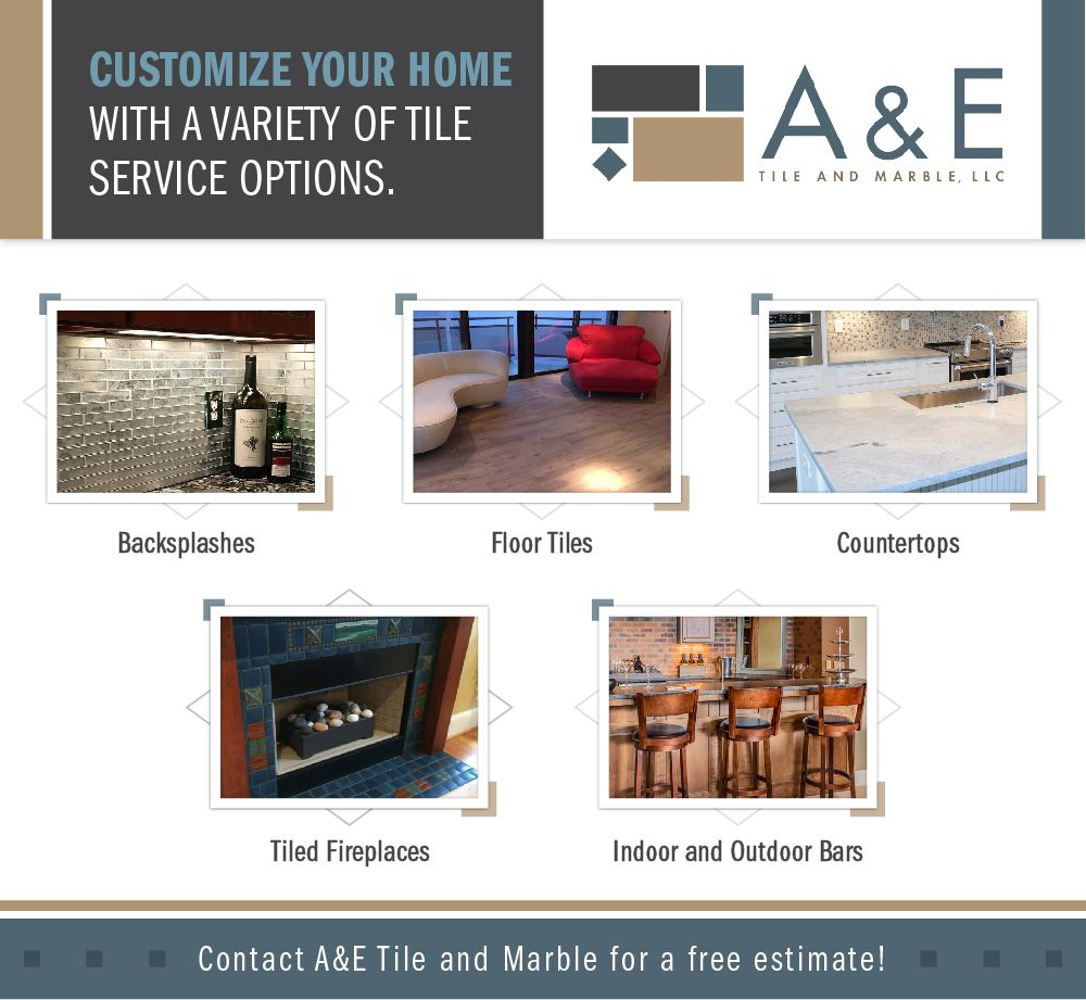 Infograph about customizing your home