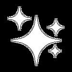new sparkle icon