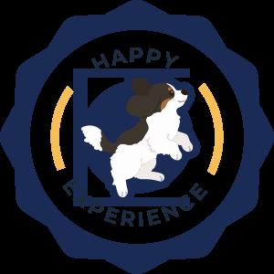 Happy Experience trust badge