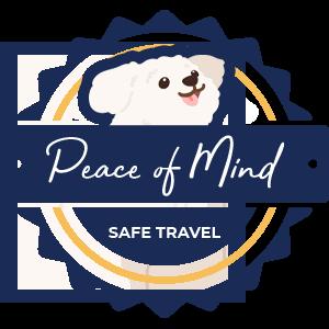 Peace of Mind Safe Travel trust badge