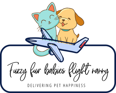 Fuzzy Fur Babies Flight Nanny Logo