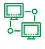 Residential networking icon