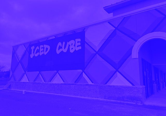Ice Cubed Building