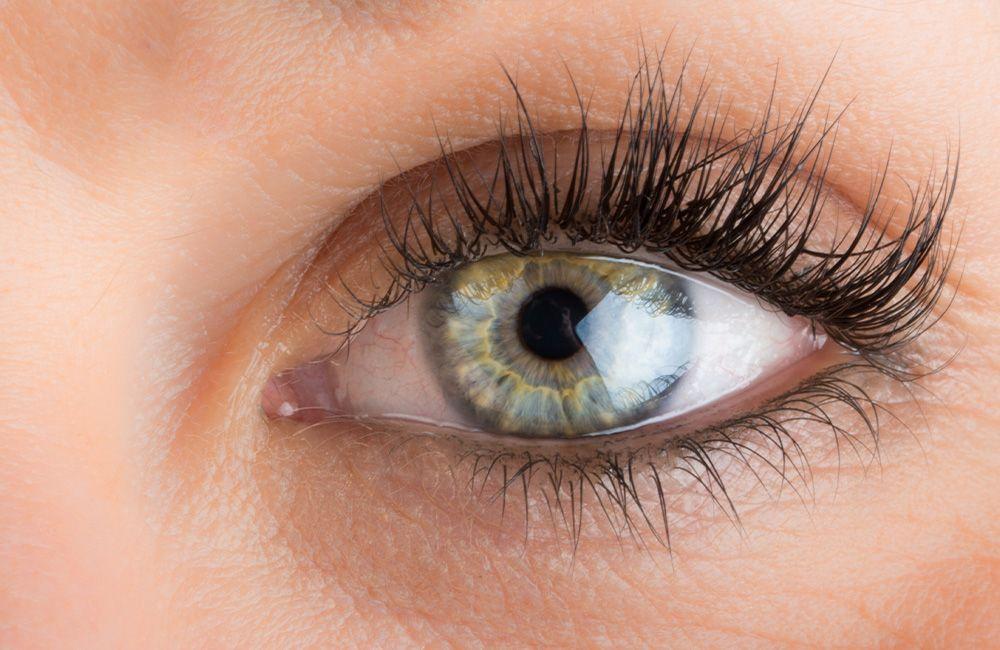 An image of a woman's eye