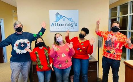 Attorney's Title Group Christmas photo