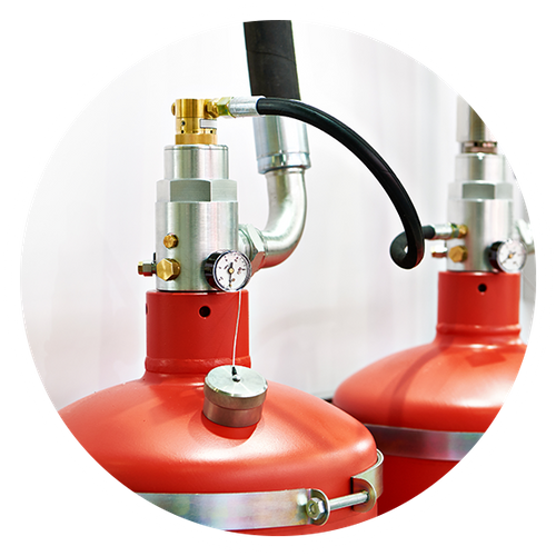 Clean Fire Suppression Module