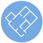 Icon of a floor plan