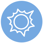 Icon of sunlight