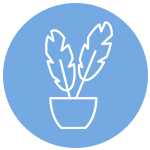 Icon of a house plant
