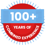 100 years of combined experience