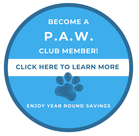 Become A Paw Club Member - Click to learn more
