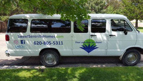 an image of the Sweet Serenity van