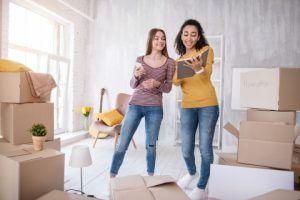 Women In New Home